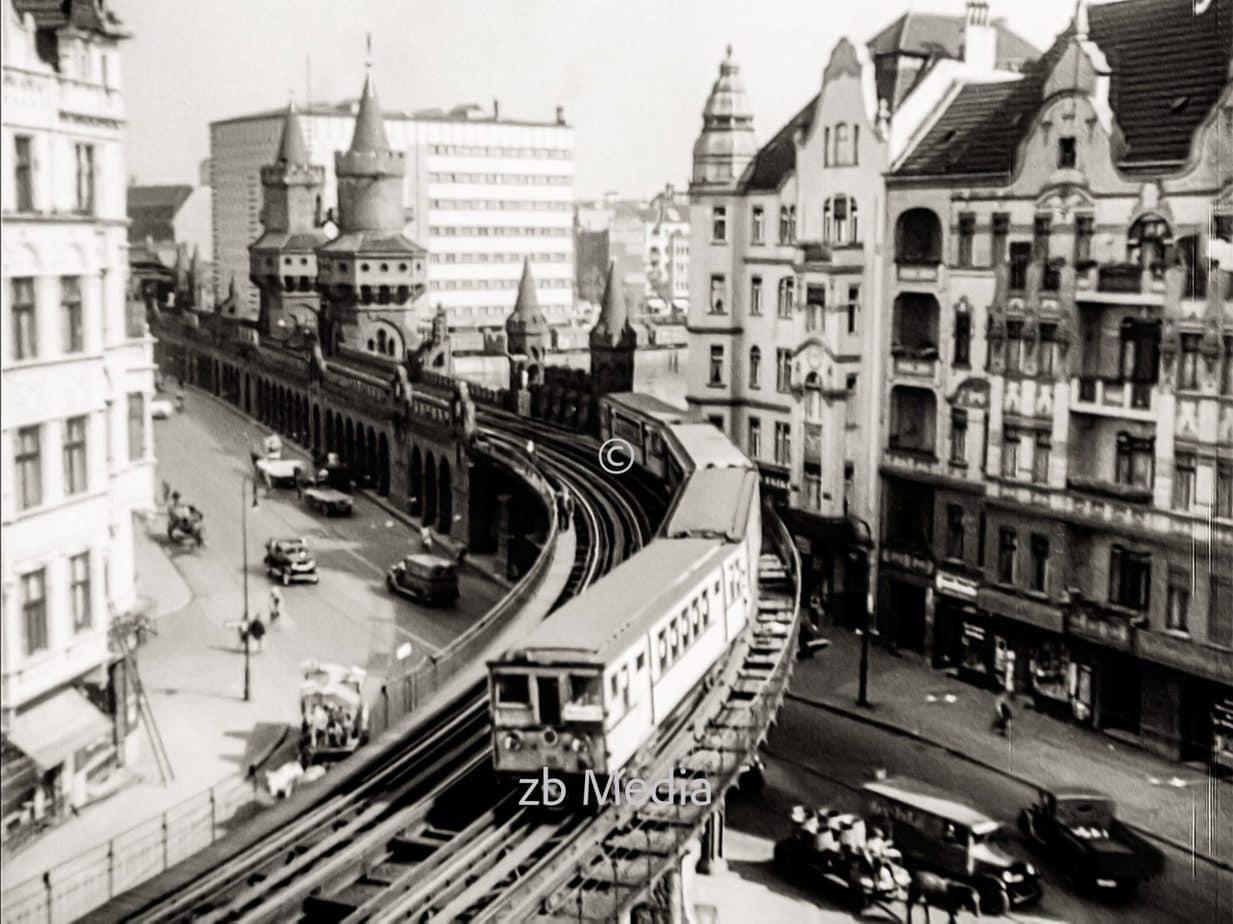 Hochbahn in Berlin 1930