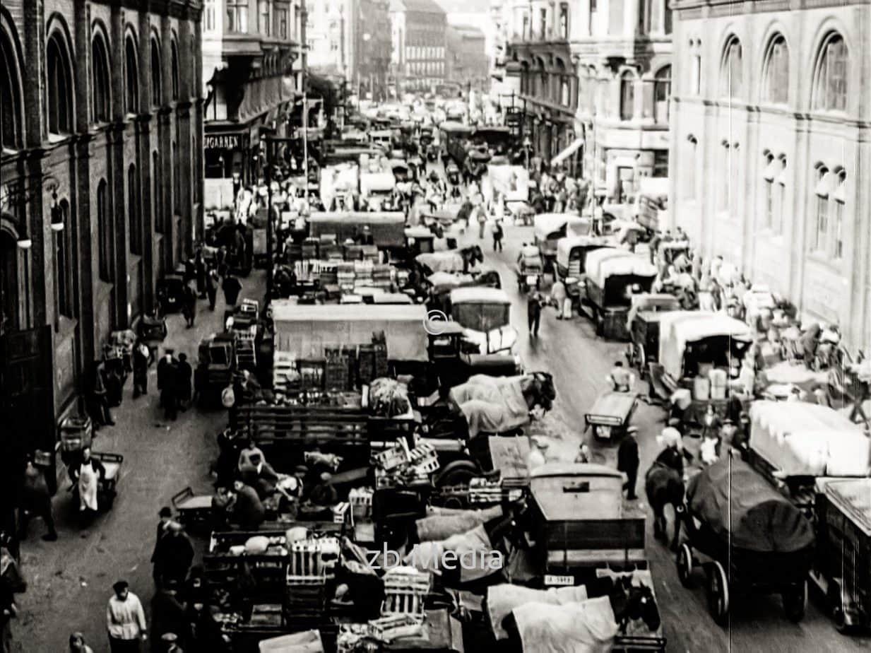 Fischmarkt in Berlin 1930