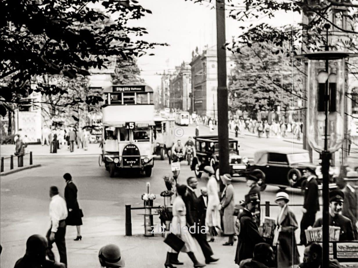 Autobus in Berlin 1930