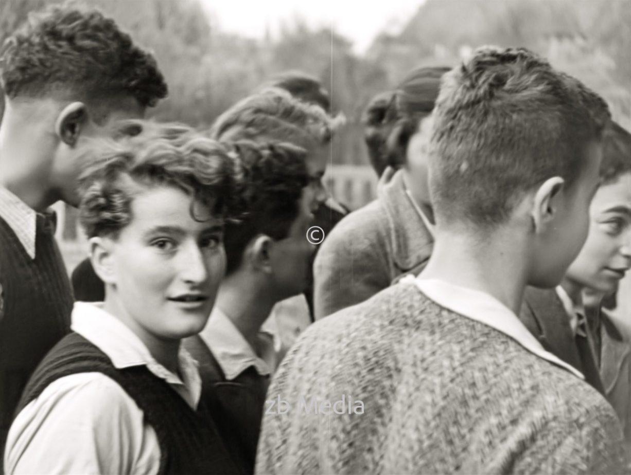 Schüler der jüdischen Goldschmidtschule in Berlin 1937