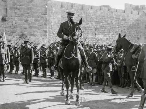 Einzug von Feldmarschall Allenby in Jerusalem 1917