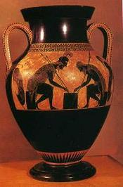 Cerámica arte griego