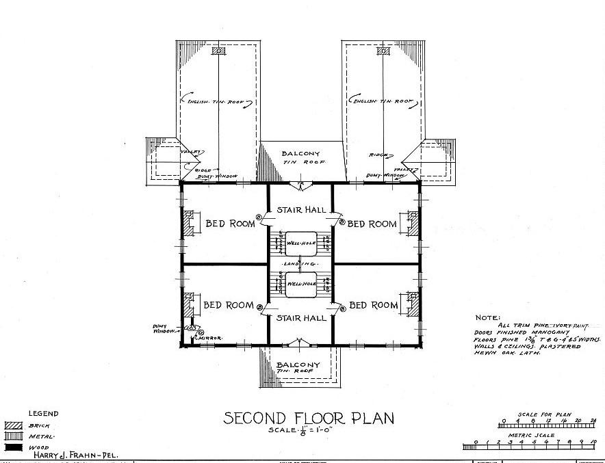 Floor Plans & Elevations Cunningham Plantation, Cherokee