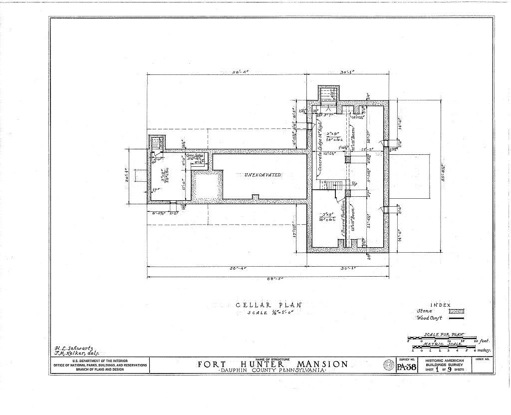 Fort Hunter Pennsylvania Floor Plans Fort Hunter Mansion
