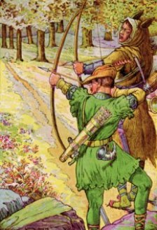 Robin Hood and Sir Guy, Rhead Louis 1912 WKPD.