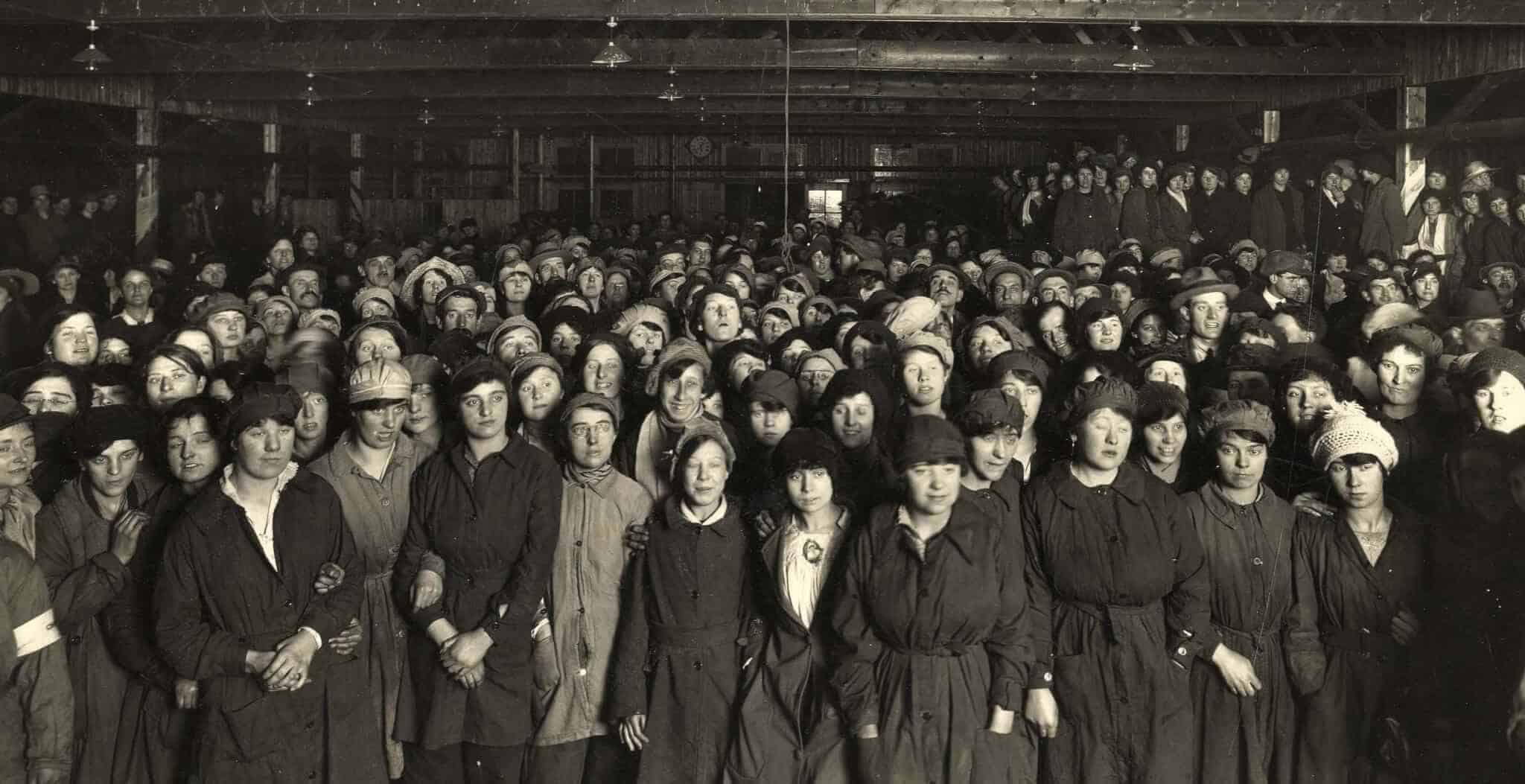 The Barnbow Lasses World War I factory workers