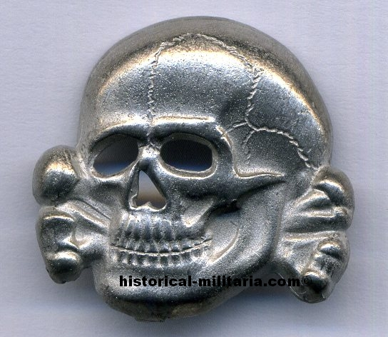 SS Totenkopf  SS skull RZM markings  RI International