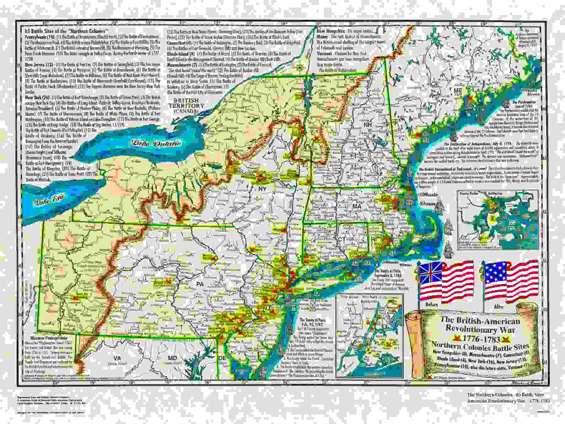 American Historical Maps