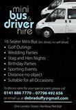 Mini-Bus & Driver Hire