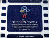 Glen Cinema Plaque