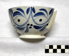 Handpainted Bowl: Historical Perspectives, Inc.