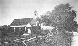 Old Photo of Willow Grove Chapel