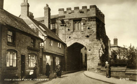 Founded as stoke ramblers in 1863 the club changed. Coventry Now & Then: Cook Street gate