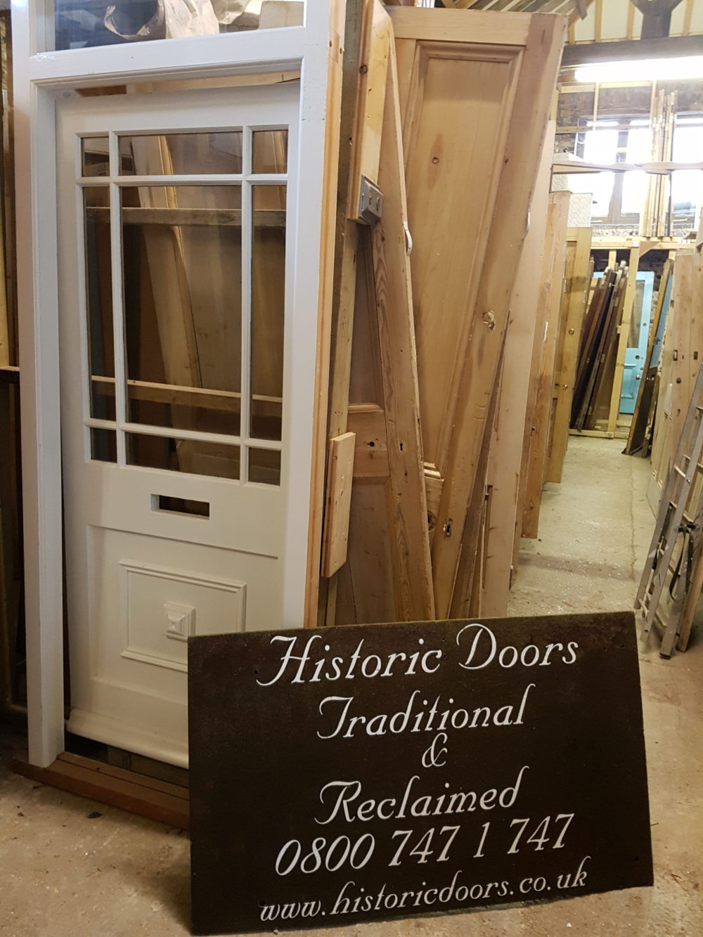 half glazed doors
