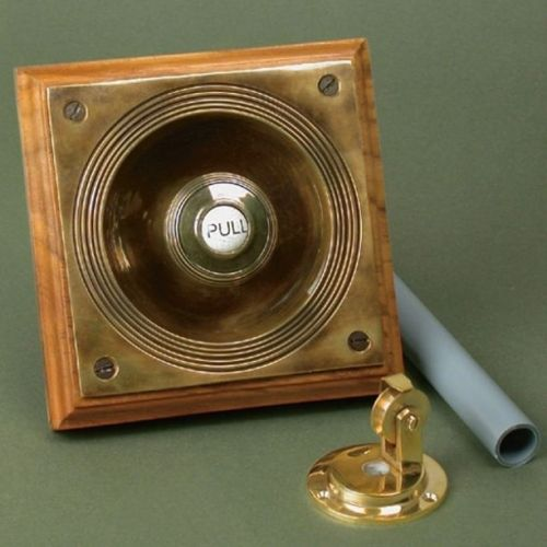 claverley manual pull cord bell