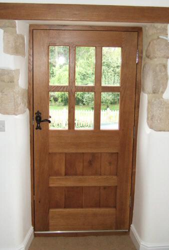 glazed cottage doors
