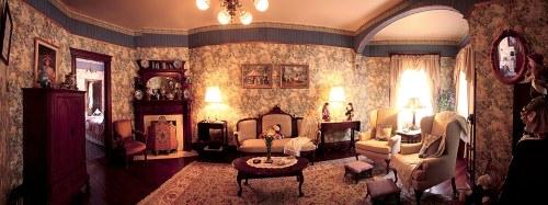 victorian townhouse parlour
