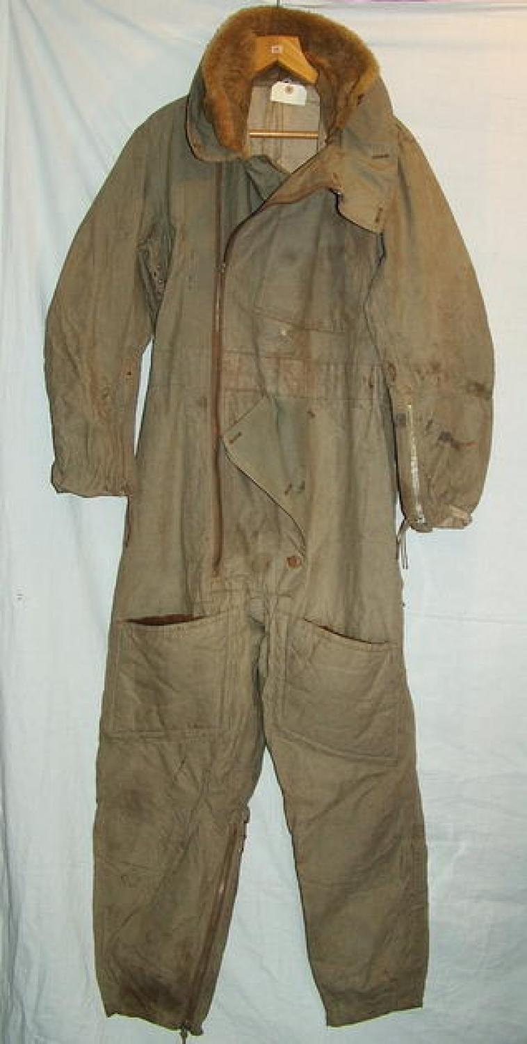 RAF 1930 Pattern Sidcot Flying Suit in