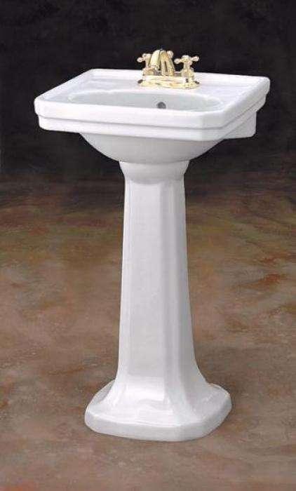 petite 20 mayfair vitreous china pedestal lavatory sink