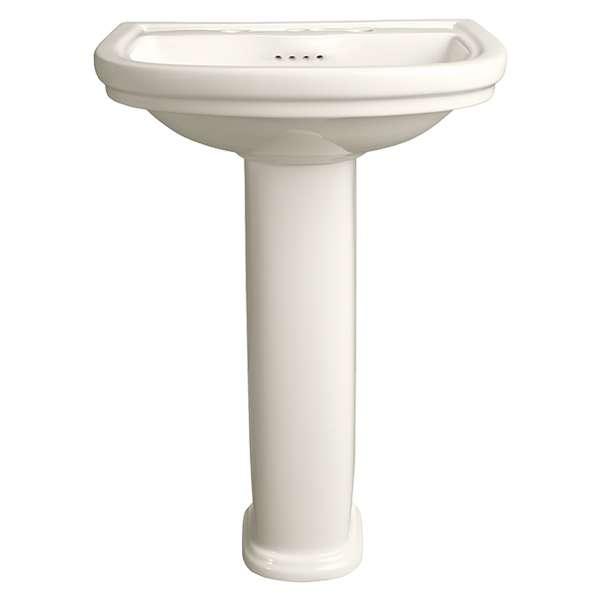 american standard st george pedestal sink biscuit