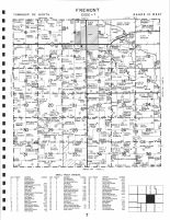 Fremont, Atlas: Bremer County 1997, Iowa Historical Map