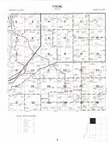 Tyrone Township, Atlas: Le Sueur County 1973, Minnesota