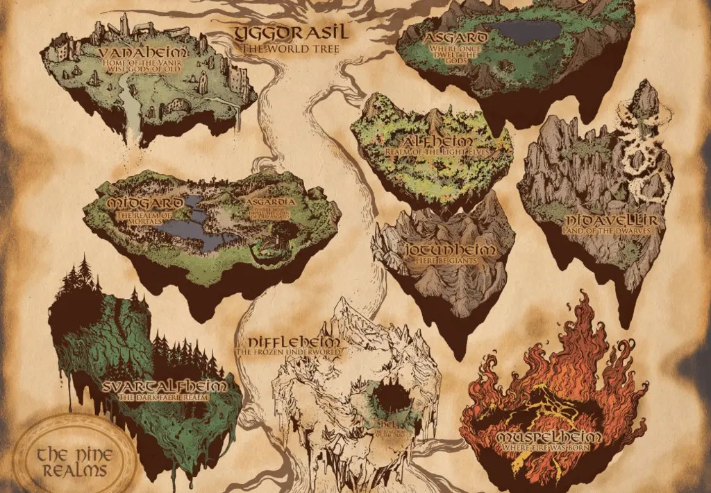 Image result for Yggdrasil norse mythology