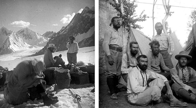 Expédition d'alpinisme Crowley K2