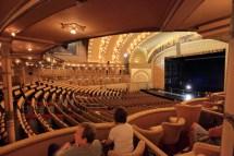 Chicago Auditorium Theatre Box Seat View