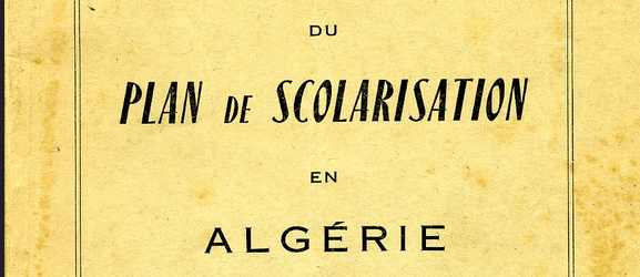 Guide de l'instructeur / Enseignement colonial en Algérie