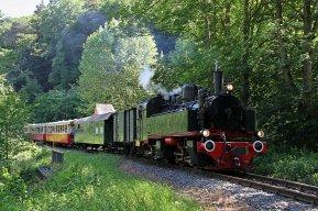 Brohltalbahn Dampflok 11Sm auf dem Weg nach Engeln © Brohltalbahn