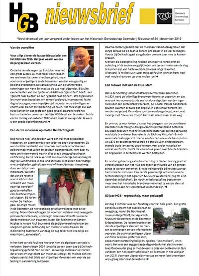 HGB Nieuwsbrief 24