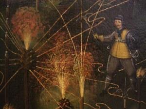 Detail van een schilderij door Joseph Furttenbach (1645).
