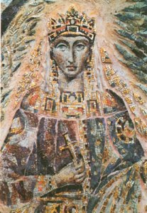 Theophanu Skleros - mozaiek St. Panthaleon in Keulen
