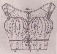 Korset met borststukken, Luman L. Chapman (1863).