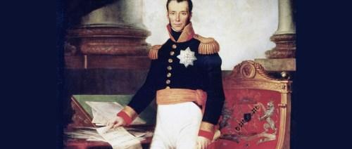 Koning Willem I en Grondwet