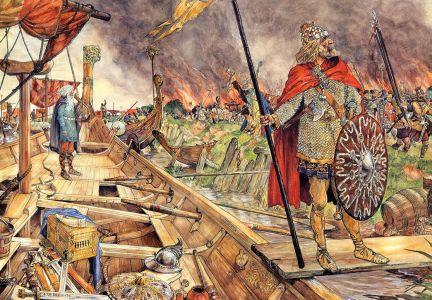 noormannen voor Dorestad
