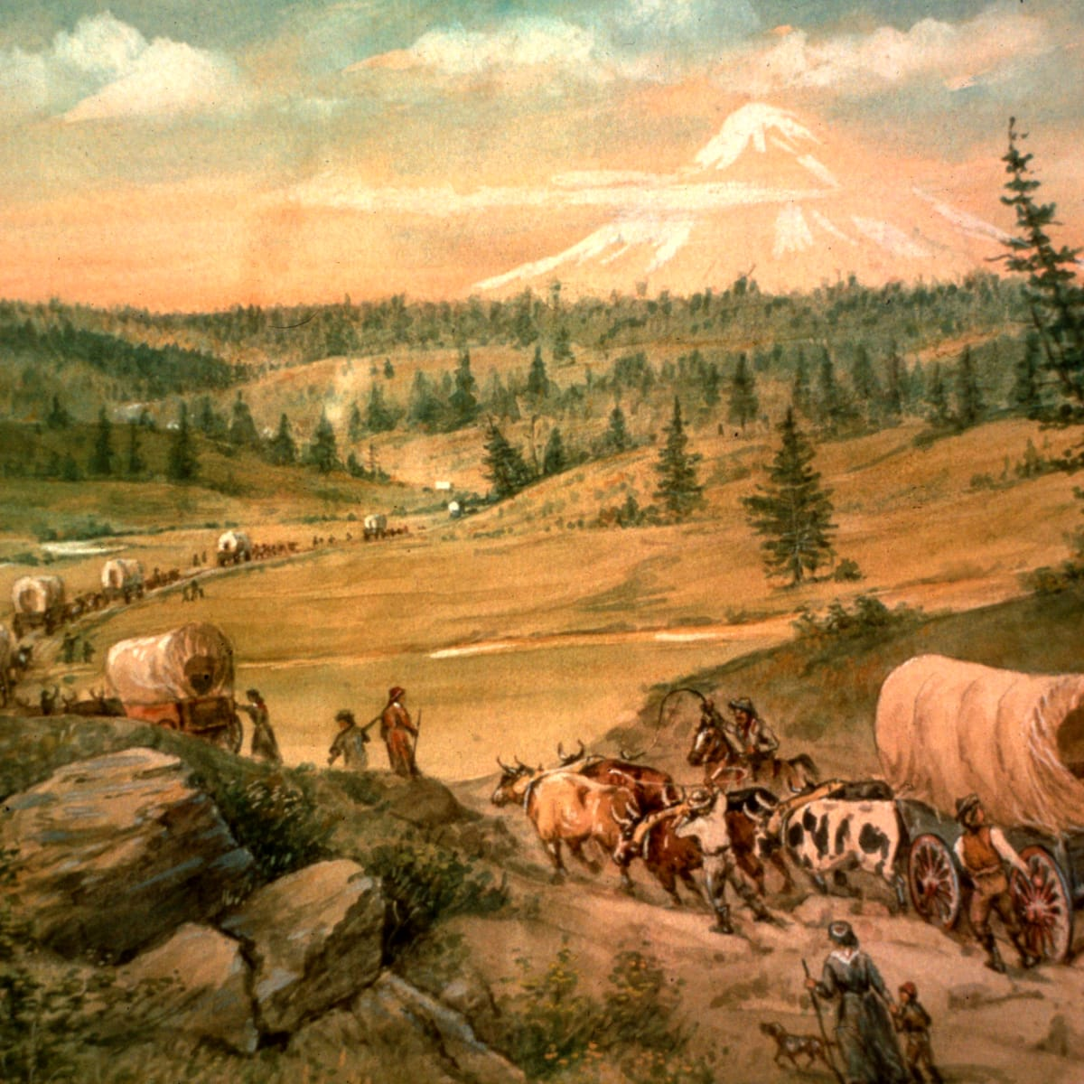 Covered Wagon Facts For Kids