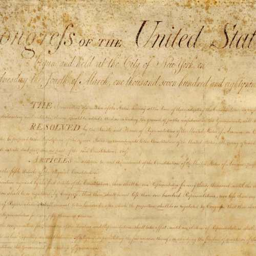 small resolution of The Bill of Rights - Drafting