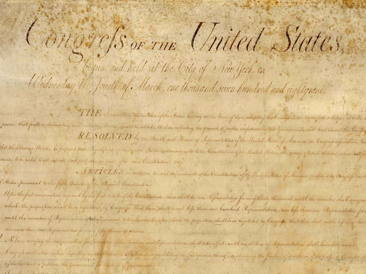 hight resolution of The Bill of Rights - Drafting