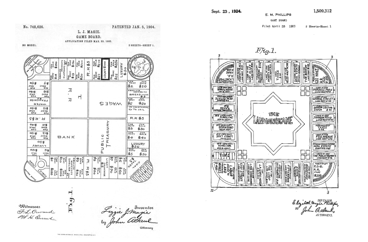 hight resolution of landlord s game patent
