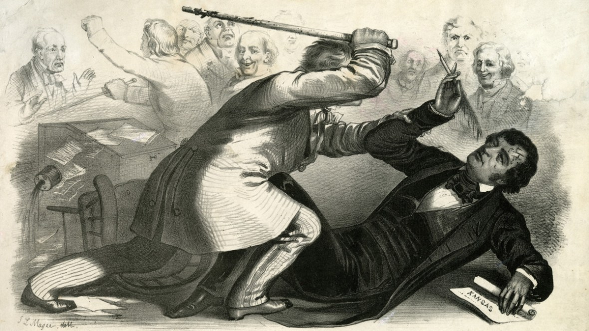 Image result for congressman hit in head with cane