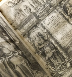 a 1616 printed king james bible translated by james i on display at the folger shakespeare [ 1200 x 675 Pixel ]