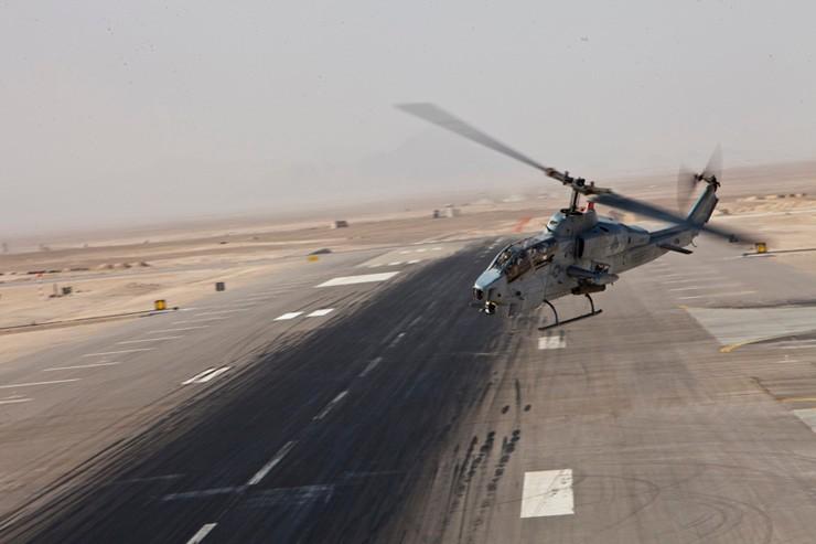 AH-1W SuperCobra Operates in Afghanistan