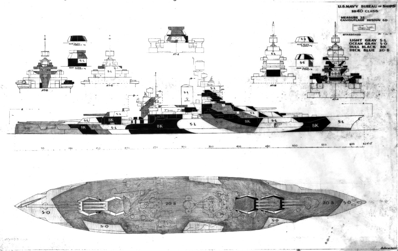 80-G-166247 Camouflage Measure 32, Design 6D