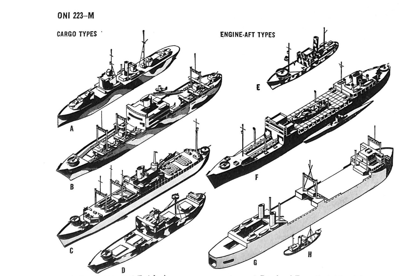 Merchant Ship Shapes