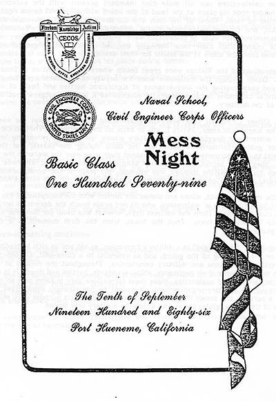 Mess Night Manual
