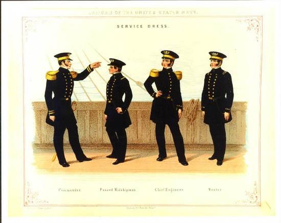 uniform regulations 1852