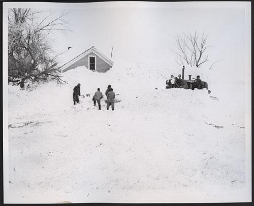 1966 Blizzard Photographs Set 5 Floods Amp Blizzards Unit 7