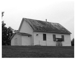 Franklin FW Baptist Church, Pilgrim B&W